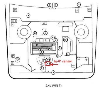 1997 Oldsmobile Achieva MAP Sensor: 1997 Oldsmobile