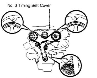 1990 Toyota Pickup Replacing Timing Belt: I Am Replacing