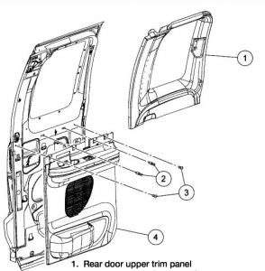 2001 Ford F150 Removel of Door Panel: Interior Problem