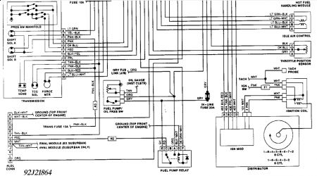 1992 GMC Sierra Fuel Pump Relay: Electrical Problem 1992