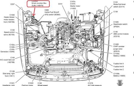 2004 Ford Ranger Wiring Diagram for Stereo: 2004 Ford