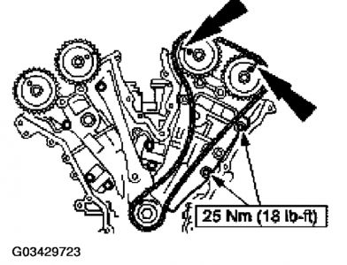 2002 Ford Escape Timing Marks: Engine Mechanical Problem