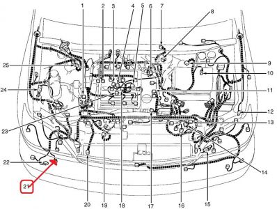 Lexus rx300 parts diagram