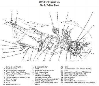 1996 Ford Taurus Turn Signal/hazard Light Relay