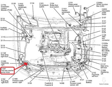 2007 Ford Escape Serpentine Belt Diagram 2003 Ford Crown