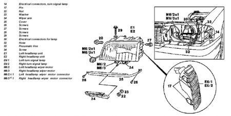 1998 Mercedes Benz C230 Headlight Assembly: How Do You
