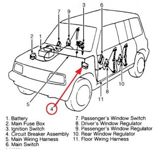 1997 Suzuki Sidekick Power Windows: I Have Wiring Diagram