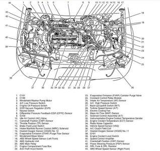 1998 Mercury Tracer AC Clutch Relay: 1998 Mercury Tracer I