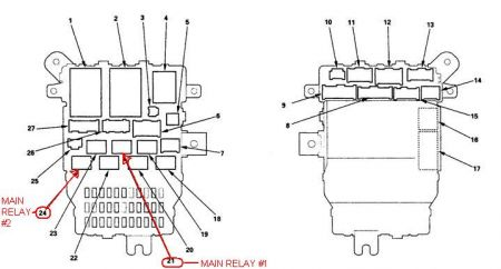 2005 Honda Accord Fuel Relay: Electrical Problem 2005