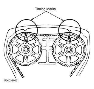 1990 Mazda Protege Timeing: Engine Mechanical Problem 1990