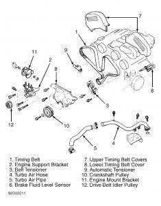 1991 Dodge Stealth Timing Belt Removal: I Have Worked on
