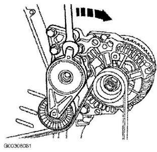 1999 Volkswagen Beetle Alternator Removal Step by Step