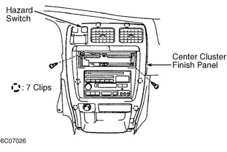 1997 Toyota 4Runner Cclock Removal: How to Remove Clock