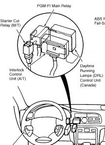 1996 honda accord engine diagram hiniker plow wiring relay great installation of only 9v on starter signal wire rh 2carpros com 96
