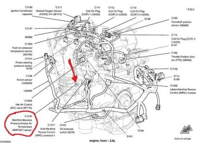 2007 Ford Fiesta Duratec 2.0-HE MAP Sensor: I Need to Find