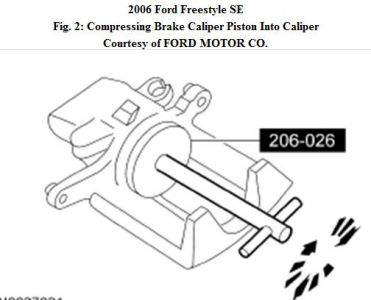2006 Ford Freestyle: Brakes Problem 2006 Ford Freestyle 6