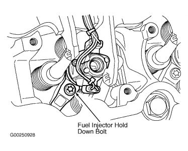 2003 Ford F350 Fuel Injectior: Engine Mechanical Problem