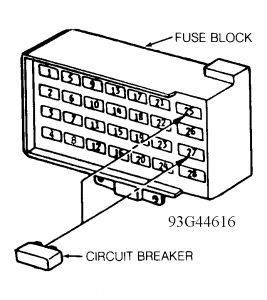 1999 Plymouth Grand Voyager Fuse Box Diagram : 44 Wiring