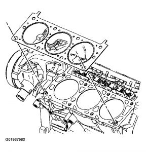 2003 Buick Century Leaking Head Gasket: Engine Mechanical