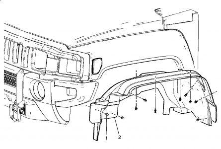 2006 Hummer H3 Front Directional Light Bulb: Electrical