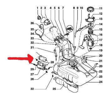 2004 Vw Jetta Fuel Filter Location : Volkswagen Golf Gti