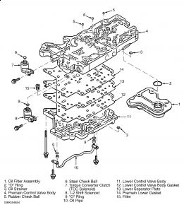 Service manual [Remove 1997 Kia Sephia Floor Shift Lever