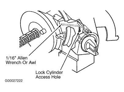 2000 Chevy Astro 2000 Astro Van Ignition Switch: Engine