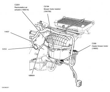 2004 Ford Focus Air Conditioning Diagram