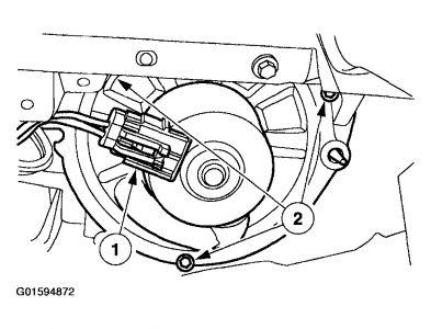 2003 Ford Taurus Blower: Heater Problem 2003 Ford Taurus