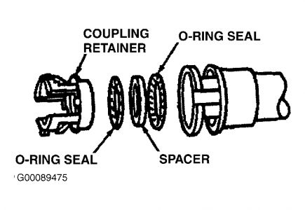 1995 Ford Windstar Heeter Hose- How to Get to It