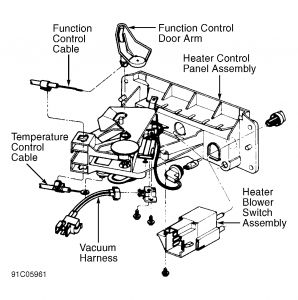 1991 Ford Explorer Heater Control Valve: Heater Problem
