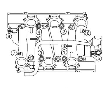 2003 Chevy Venture Intake Manifold Gasket: Engine Cooling
