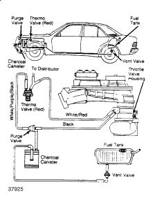 420Sel mercedes engine diagram