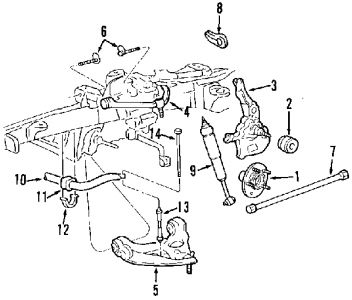 Ford 4x4 Front Locking Hub Diagram, Ford, Free Engine