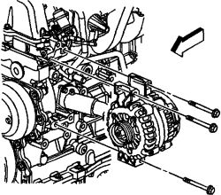 2003 GMC Envoy Alternator: Electrical Problem 2003 GMC