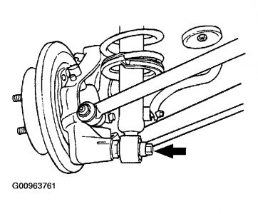 2003 Hyundai Sonata Rear Suspension Diagram