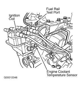 2002 Dodge Caravan Fuel Rail Leak: 4 Cylinder 2.4L Dodge