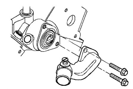 Service manual [Replace Thermostat On A 2002 Buick Century