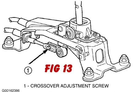 Service manual [2002 Dodge Neon Shift Link Cable Remove
