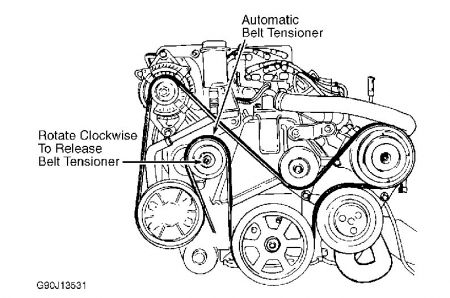 1994 Plymouth Voyager Awd Van Belt Diagram: I Was