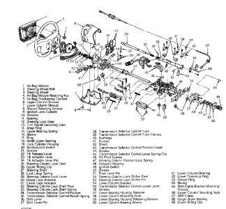 Steering Column Diagram: the Steering Column in My 1994