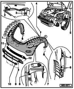 2001 Volkswagen Beetle 2001 Beetle Grill: 2001 Volkswagen