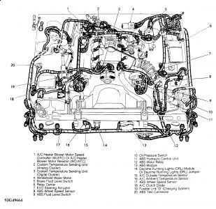 1994 Ford Crown Victoria Oil Pressure Sending Unit