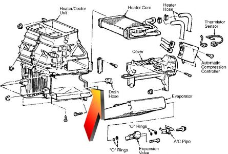 1996 Galant Ac Belt Diagram Exploded View Diagram