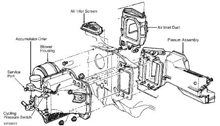 Service manual [How To Remove Heater From A 1993 Lincoln
