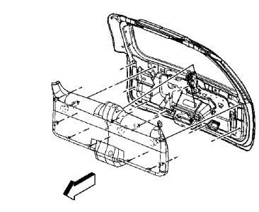 Rear Hatch Won't Open: Electrical Problem 2006 GMC Yukon