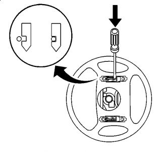 1999 Cadillac Escalade AIR BAG: HOW DO YOU REMOVE THE