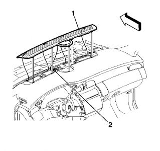 Service manual [How To Remove Lower Dash 2005 Cadillac