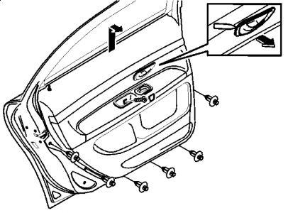 2000 Volvo S80 Door Locks: Rear Driver Side Door Lock Will
