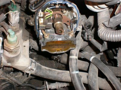 1999 Blazer Distributor Wiring Diagram 1995 Toyota Camry Car Wont Start The Car Has An Oil Leak